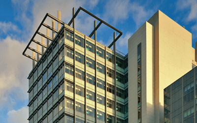 The University of Miami Wellness Center exterior