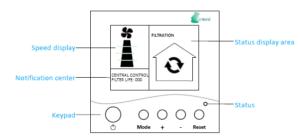 enVerid HEPA Air Purifier Controller