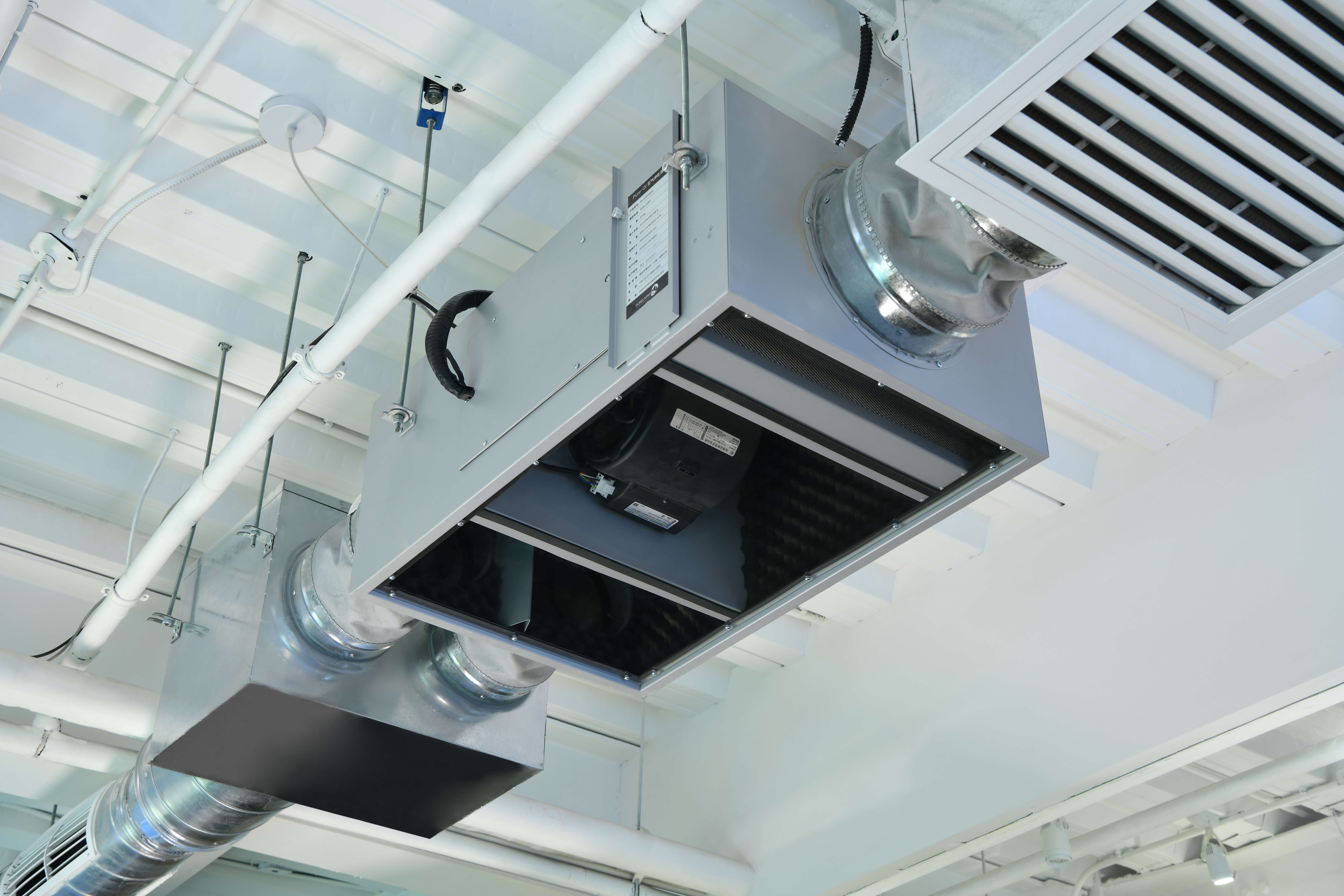 enVerid HEPA air filtration with UVC filter cleaning