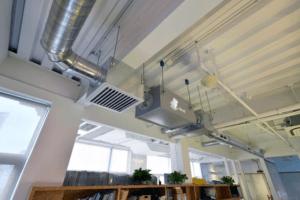 enVerid HEPA Air Purifier installation