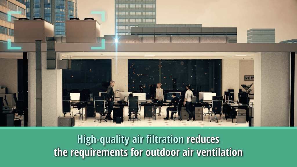 Minimum ventilation and high-efficiency air filtration video