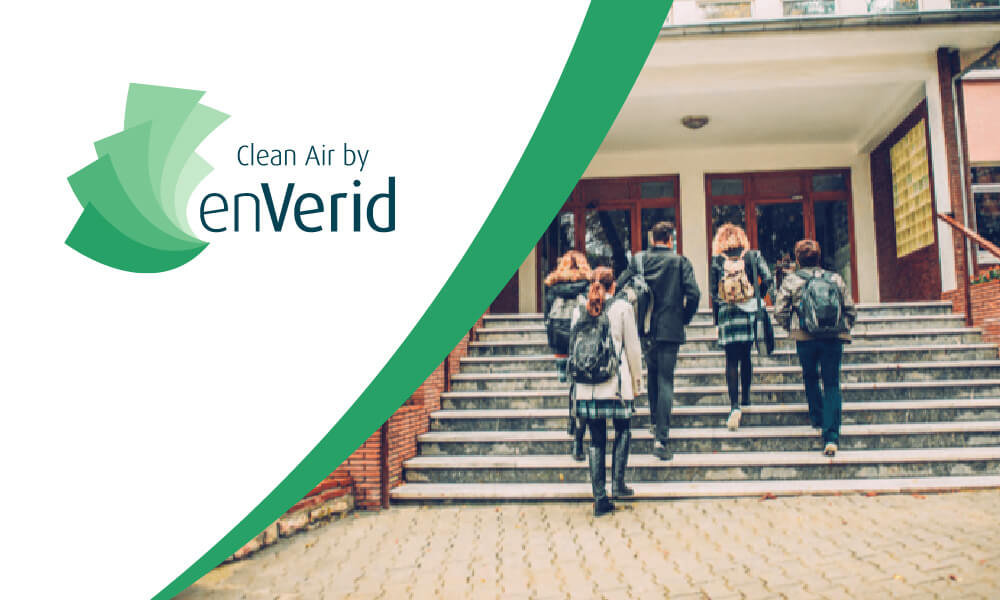 Clean Air by enVerid for schools