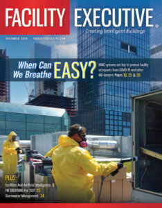 Facility Executive December 2020 cover
