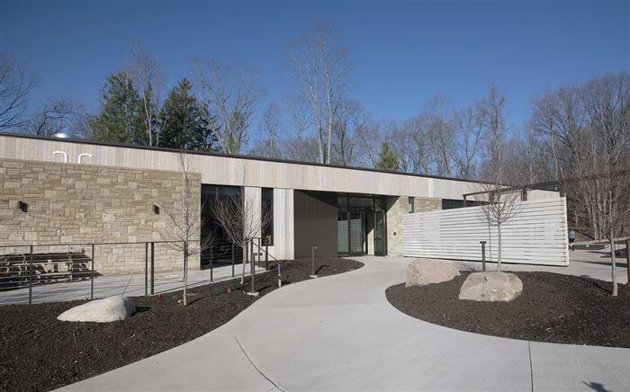 Pittsburgh Botanical Garden Welcome Center - credit Pam Panchak/Post-Gazette