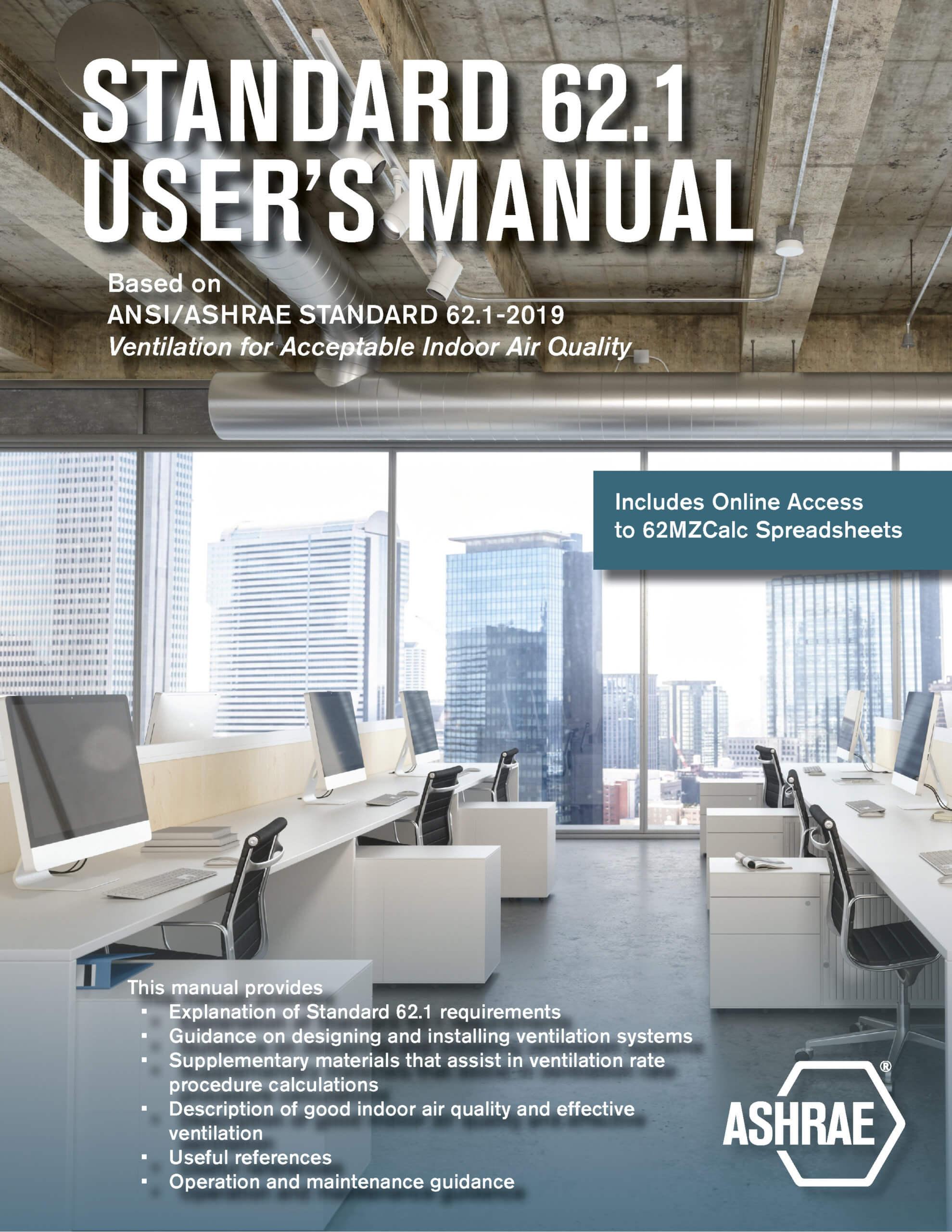 ASHRAE Standard 62.1 User Manual