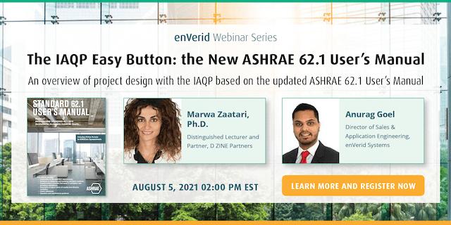 The IAQP Easy Button: ASHRAE 62.1 Manual Webinar