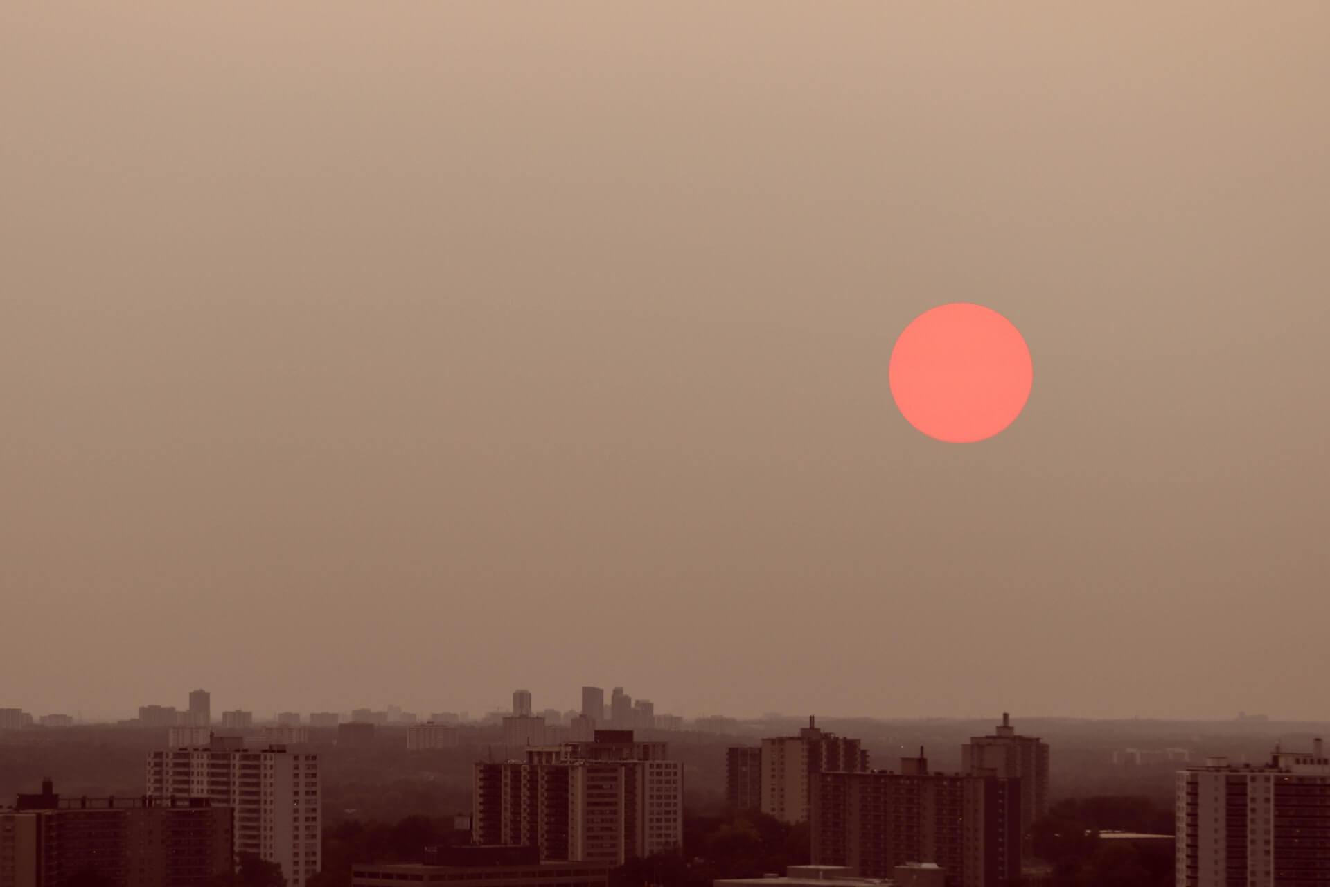 Wildfire Smoke by designecologist
